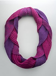 NY&CO Braided Scarf