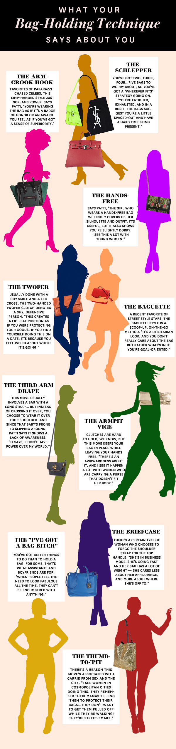 What Your Handbag Style Says about you