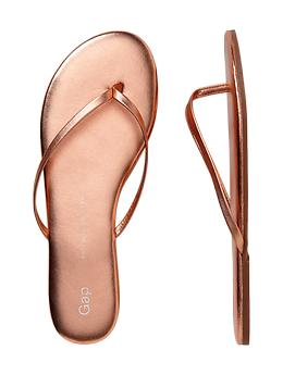 Leather Flip-Flop from Gap