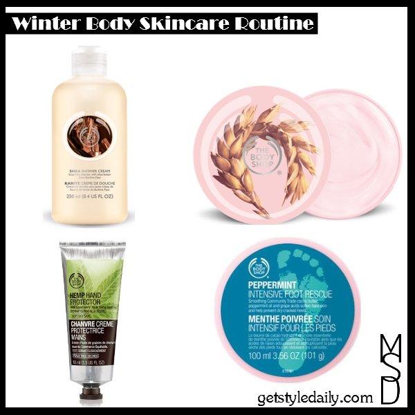 Winter Body Skincare Routine