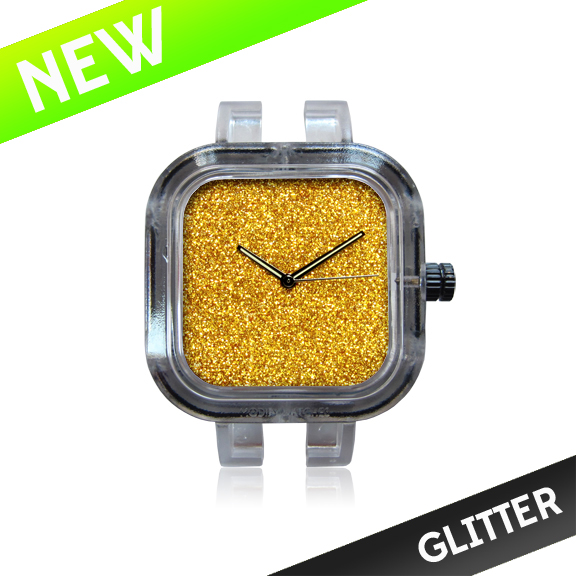 Modify Watches Gold Glitter Face